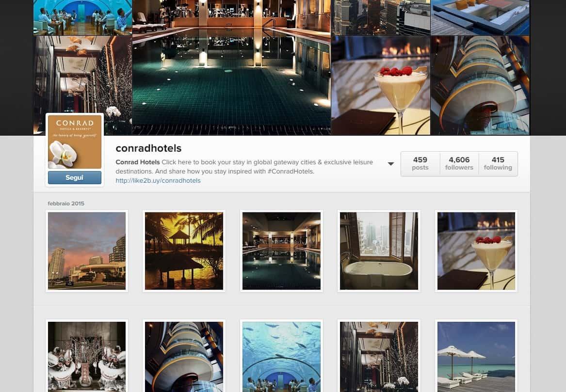 Instagram: scegli e prenota la stanza direttamente